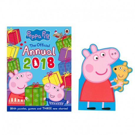 D: Peppa Pig The Official Annual 2018 Story and Activity Book